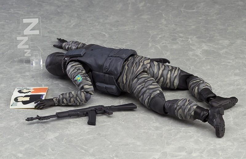 Figma 298. Gurlukovich Solider Metal Gear Solid / Metal Gear Solid фигурка солдата