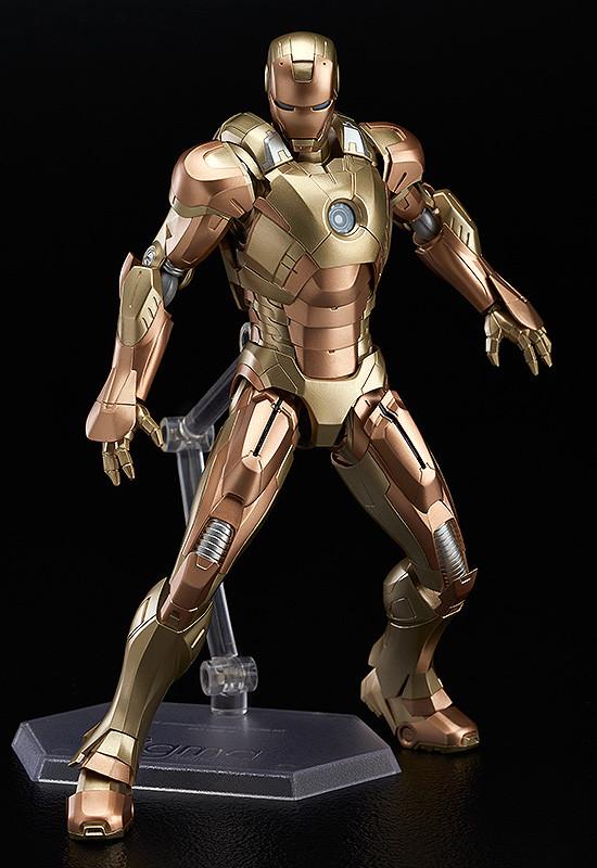 Figma EX-026. Iron Man Mark XXI (Midas) / Железный человек фигурка Марк 21