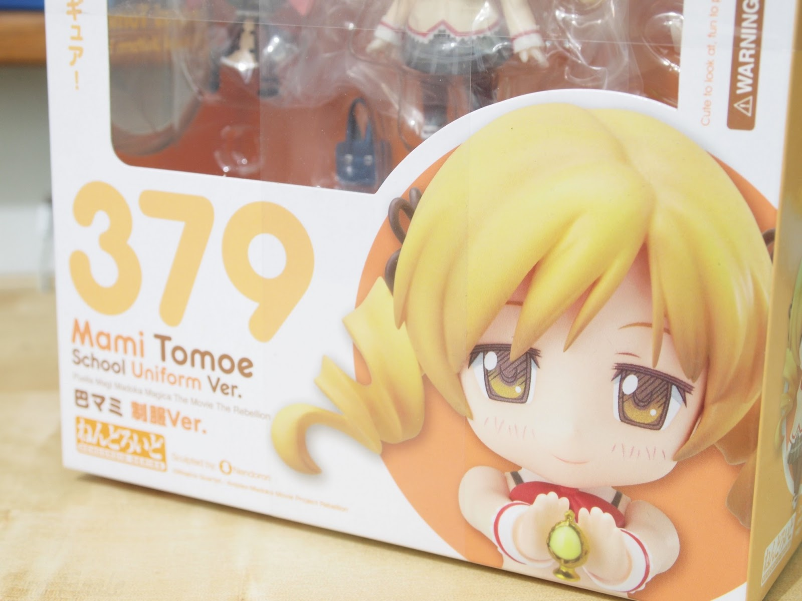 Nendoroid 379. Mami Tomoe: School Uniform Ver. Puella Magi Madoka Magica / Девочка-волшебница Мадока Мами Томоэ