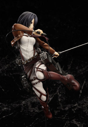 Mikasa Ackerman Attack on Titan Complete figure / Вторжение гигантов Микаса фигурка
