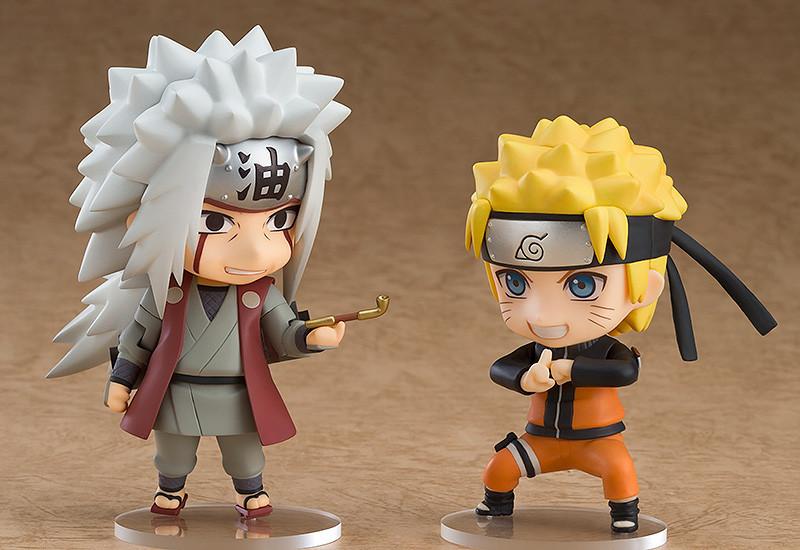 Nendoroid 886. Jiraiya & Gamabunta Set [Naruto]