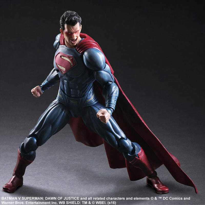 Superman – Batman vs Superman: Dawn of Justice – Variant Play Arts Kai 5