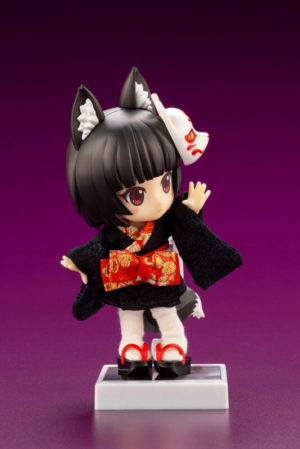 Kuro Kitsune Posable - Cu-poche Friends