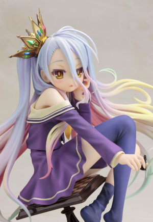 No Game No Life Shiro 1/7 Scale Boxed PVC / аниме фигурка Сиро