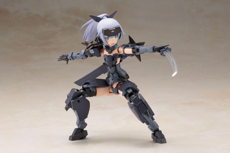 Frame Arms Girl - Jinrai Indigo Ver. Plastic Model