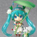 Nendoroid 493. Vocaloid Snow Miku: Snow Bell Ver