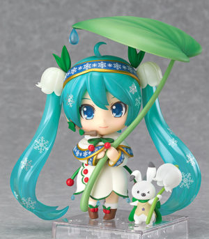 Nendoroid 493. Vocaloid Snow Miku: Snow Bell Ver.