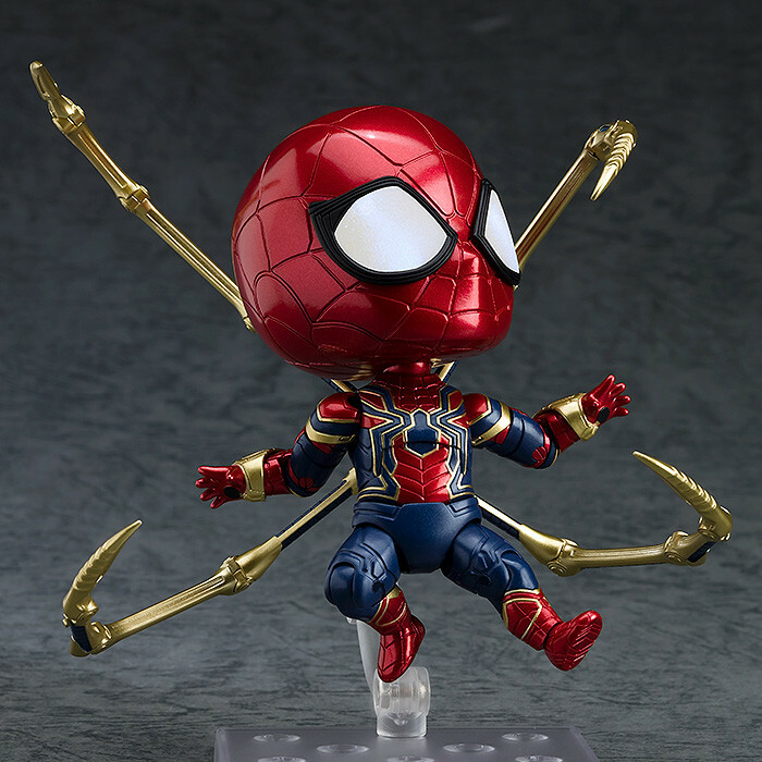 Nendoroid 1037. Iron Spider: Infinity Edition (Человек-паук нендороид фигурка)