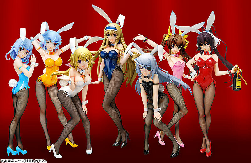 Charlotte Dunois Bunny Ver. [IS: Infinite Stratos] [1/4 Complete Figure]