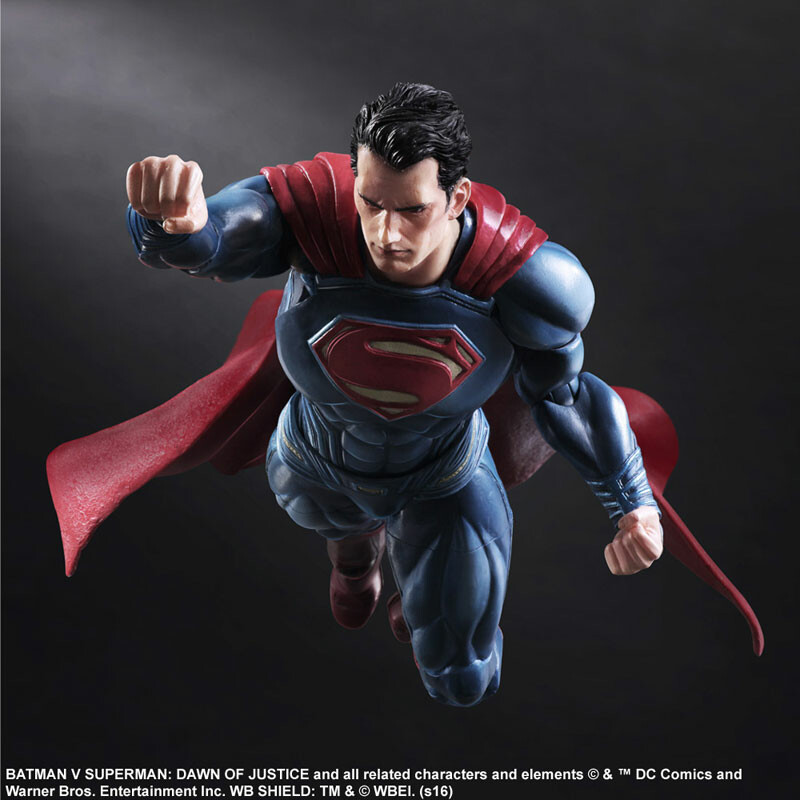 Superman – Batman vs Superman: Dawn of Justice – Variant Play Arts Kai 6