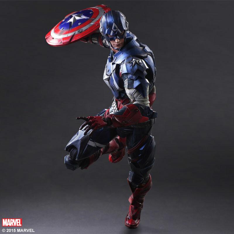 Captain America - Marvel Universe [Play Arts Kai]