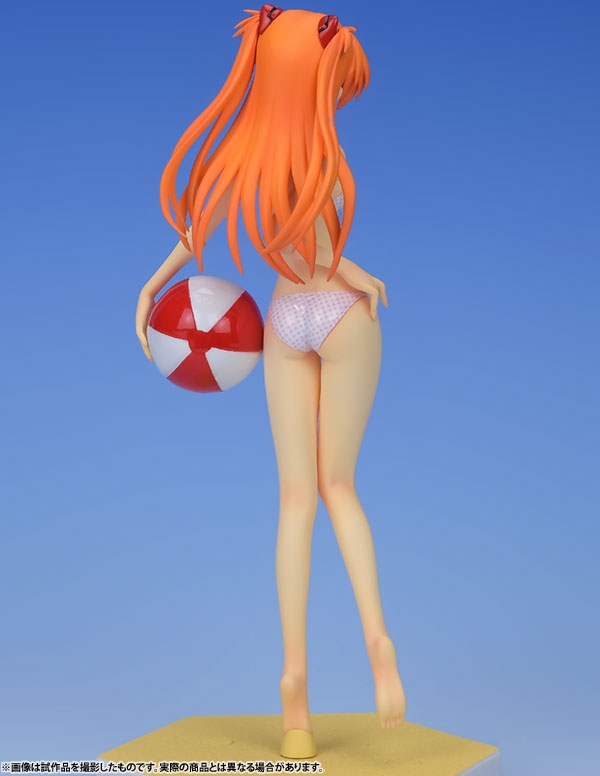 Asuka Langley Soryu Beach Queens Complete Figure Ver. 1/10 / Аска Лэнгли Сорью аниме фигурка Евангелион