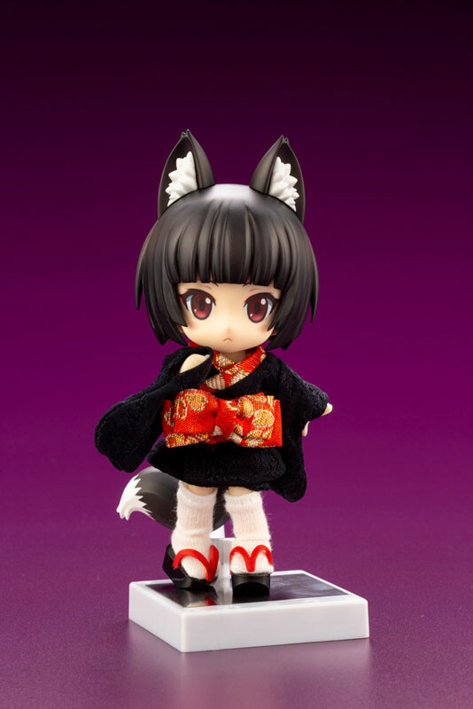 Kuro Kitsune Posable - Cu-poche Friends