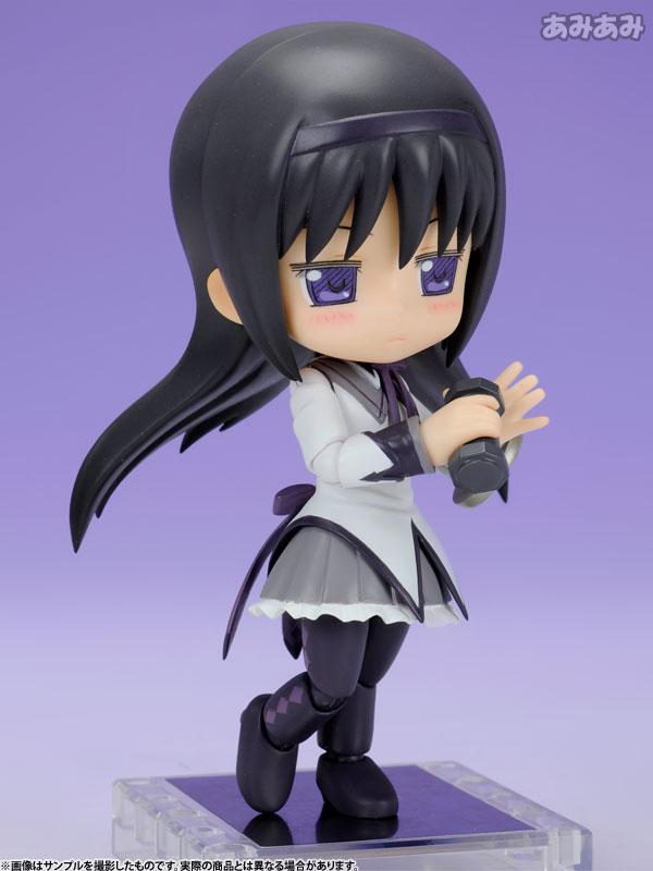 Cu-poche - Puella Magi Madoka Magica the Movie: Homura Akemi Posable Figure / Девочка-волшебница Мадока Хомура Акэми