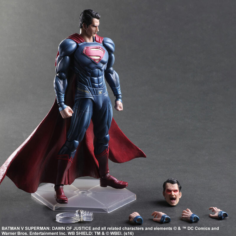 Superman – Batman vs Superman: Dawn of Justice – Variant Play Arts Kai 8