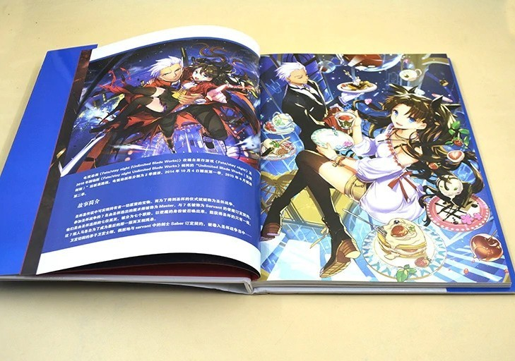 Fate Stay Night - ArtBook Unlimited Blue
