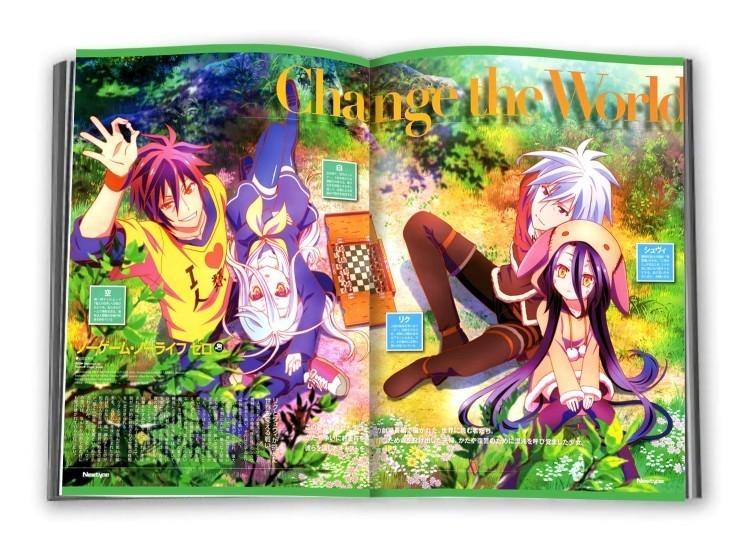No Game No Life - ArtBook Best Artworks