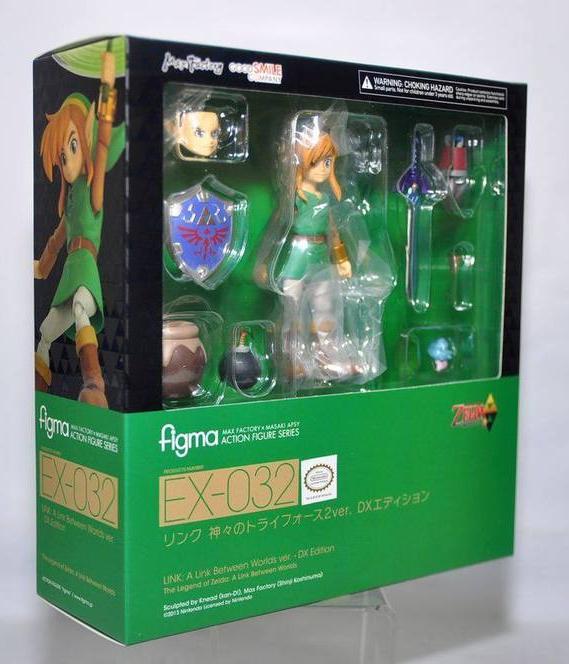 Figma EX-032. Link: A Link Between Worlds ver. - DX Edition The Legend of Zelda