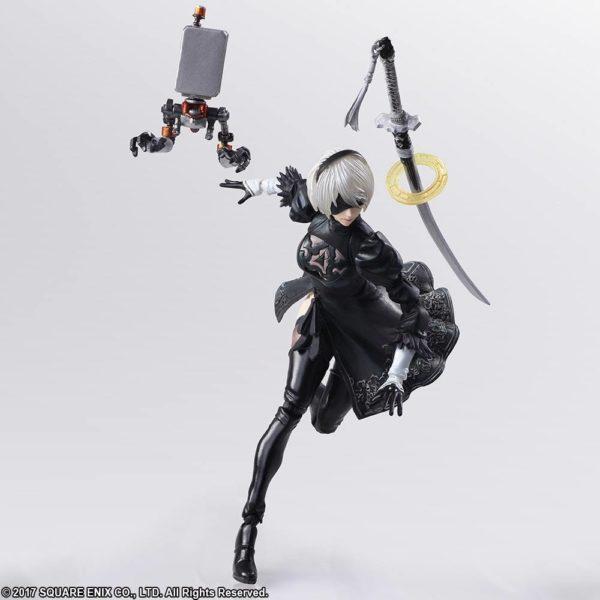 2B & Machine Lifeform - NieR: Automata [ACTION FIGURE]