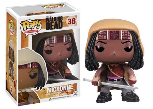 The Walking Dead: Michonne Funko POP / Мишун Ходячие мертвецы фанко поп