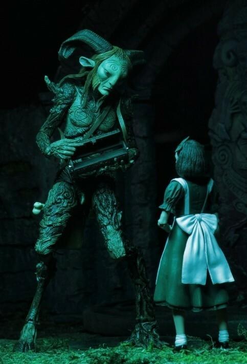 """NECA Pan's Labyrinth The Faun 9"""" Scale Guillermo del Toro"""