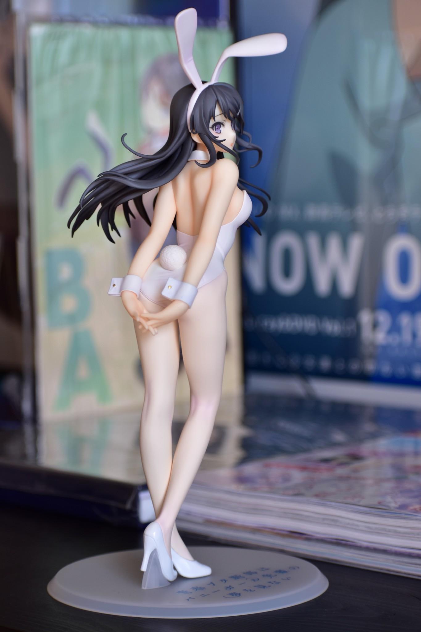 Sakurajima Mai - White Bunny Girl ver. Seishun Buta Yarou wa Bunny Girl Senpai no Yume wo Minai