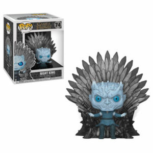 Night King on Iron Throne Deluxe - Game of Thrones Funko POP
