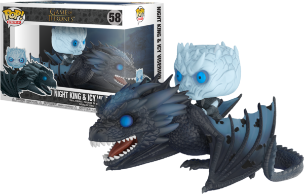 Night King & Dragon - Game of Thrones Funko POP / Король ночи и Дракон - Фанко ПОП Игра Престолов