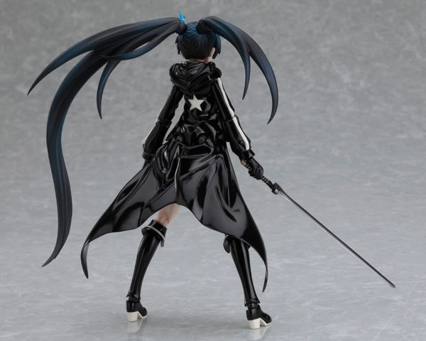 Figma SP-012. Black Rock Shooter Black B ver. figure / Стрелок с Черной скалы аниме фигурка