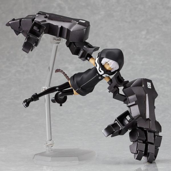 Figma SP-018. Black Rock Shooter Strength ver. figure / Стрелок с Черной скалы аниме фигурка