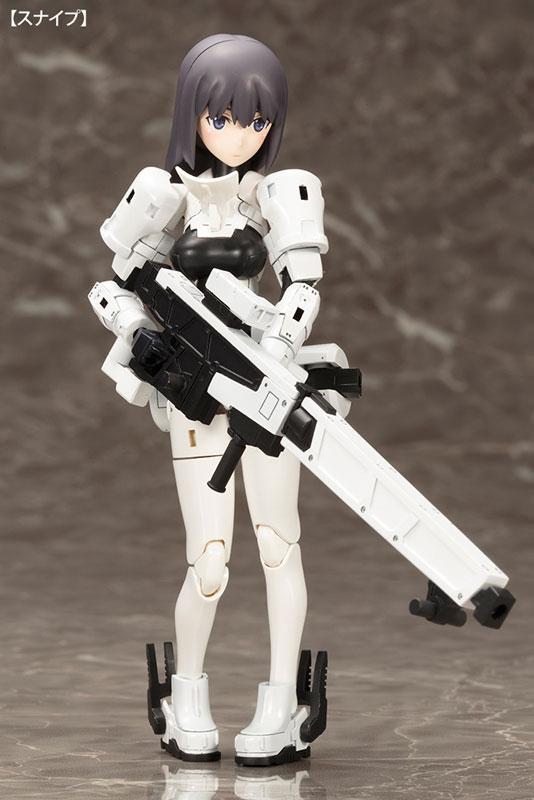 WISM Soldier Snipe/Grapple Plastic Model - Megami Device