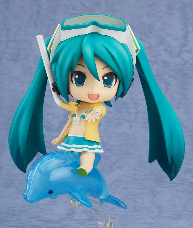Nendoroid 339a. Hatsune Miku: Swimsuit Ver. & FamilyMart 2013 Ver. / Мику Хацунэ нендороид фигурка