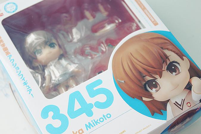 Nendoroid 345. Mikoto Misaka / Фигурка Мисака Микото Индекс Волшебства