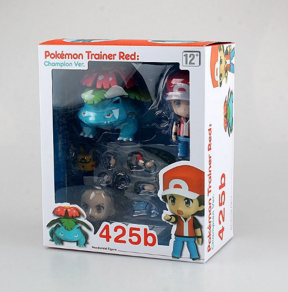 Nendoroid 425b. Pokemon Trainer Red. Champion ver. / Покемон аниме фигурка