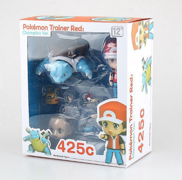 Nendoroid 425c. Pokemon Trainer Red. Champion ver.