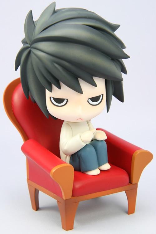 Nendoroid 017. Death Note L / Тетрадь смерти фигурка Л