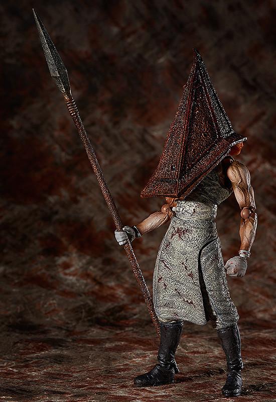 Figma SP-055. Red Pyramid Thing SILENT HILL / Сайлент Хилл фигурка пирамидоголового