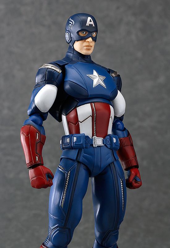 Figma 226. Captain America / Капитан Америка фигурка фигма