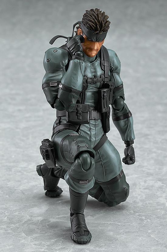 Figma 243. Solid Snake: MGS2 ver. Metal Gear Solid / Metal Gear Solid фигурка Солида Снейка