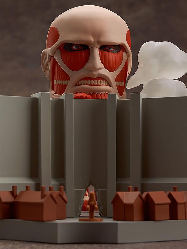 Nendoroid 360. Nendoroid Colossus Titan & Attack Playset / Attack on Titan - Фигурка Атака Титанов