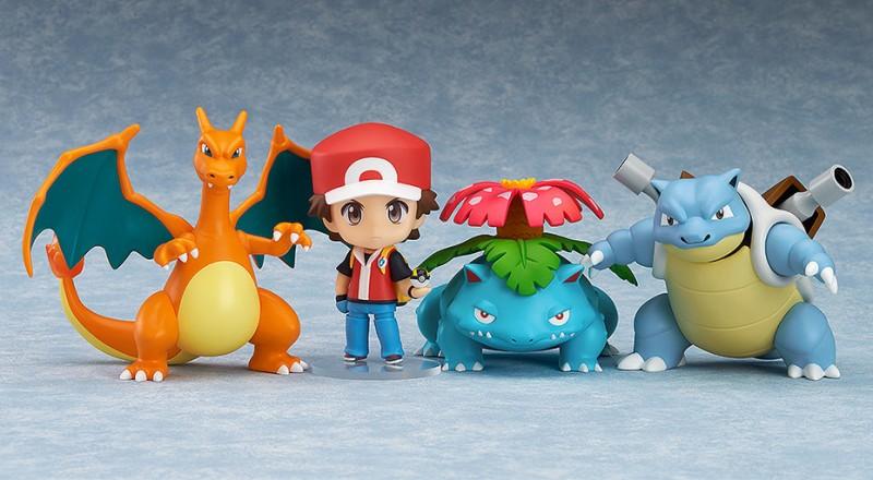 Nendoroid 425a. Pokemon Trainer Red. Champion ver. / Покемон аниме фигурка