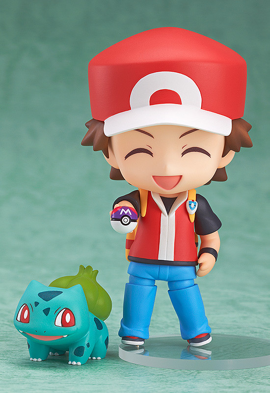 Nendoroid 425. Pokemon Trainer Red. Покемон фигурка Нендороид