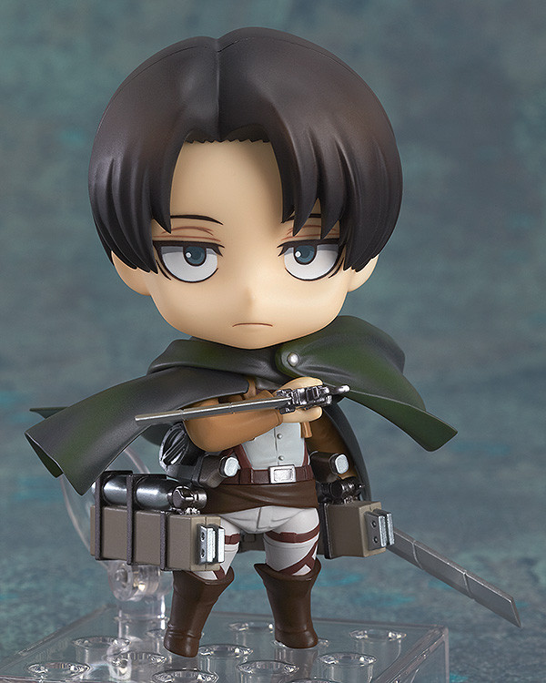 Nendoroid 390. Levi Attack on Titan / Вторжение гигантов фигурка Леви