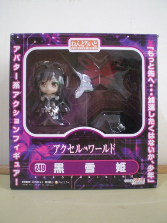 Nendoroid 249. Kuroyukihime Accel World / Ускоренный мир Куроюки-химэ фигурка