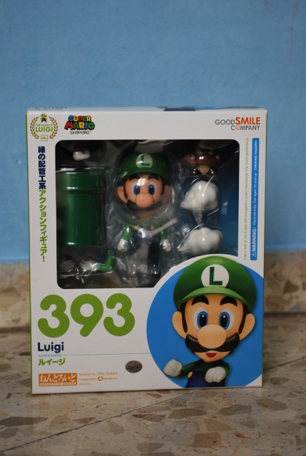 Nendoroid 393. Luigi / Луиджи фигурка