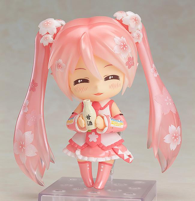 Nendoroid 500. Sakura Miku: Bloomed in Japan. Vocaloid.