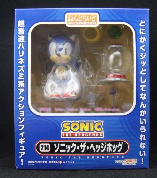 Nendoroid 214. Sonic the Hedgehog / Соник фигурка