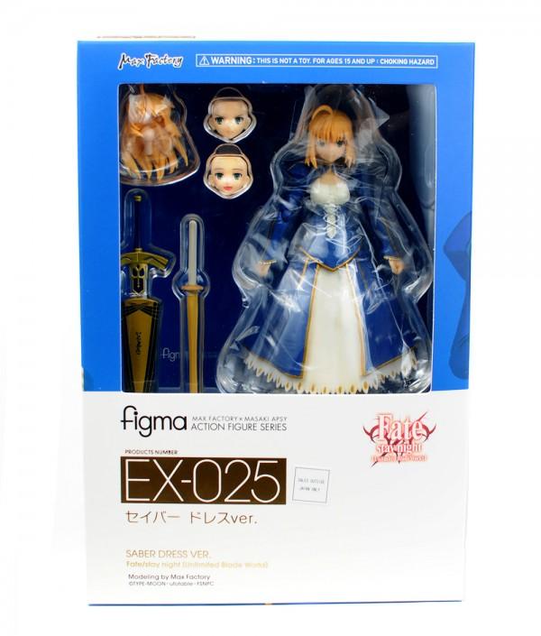 Figma EX-025. Saber: Dress ver. / Сэйбер аниме фигурка