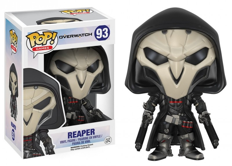 Funko POP. Overwatch Reaper / Фанко Поп - Овервотч фигурка Жнец
