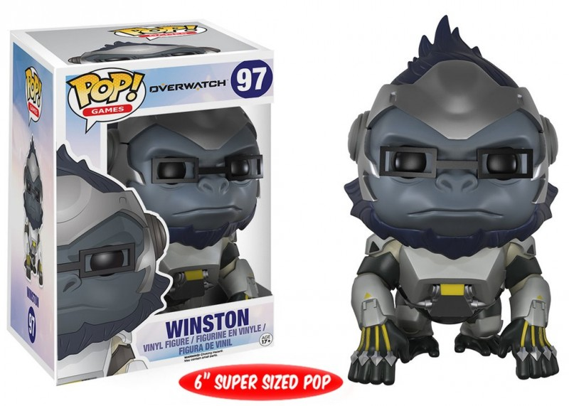 Funko POP. Overwatch Winston / Фанко Поп - Овервотч фигурка Уинстон